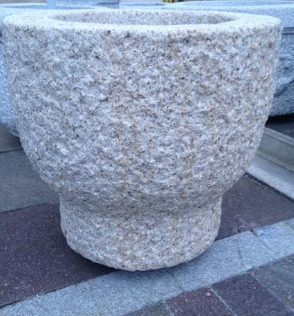 jardinera piedra natural