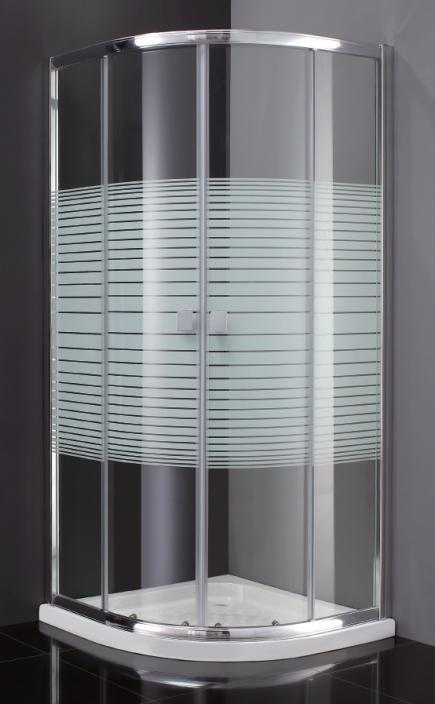 Mamparas De Bano 80x80.Mampara Ducha Semicircular Titan 76 5 79 Radio Roca