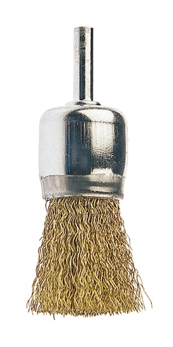 Cepillo soldadura mango plastico 4 filas latonado Egamaster
