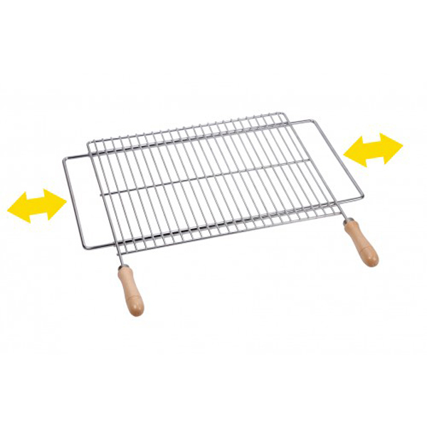 23052601 PARRILLA BARBACOA EXTENSIBLE SAUVIC 60X40 CM 2724