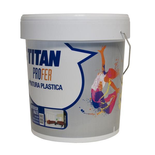 Pintura pl/ástica mate OCRE Titan UNA CAPA Titan 69633005