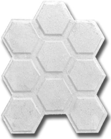 baldosa hidraulica hexagonal tipo san sebastian blanca