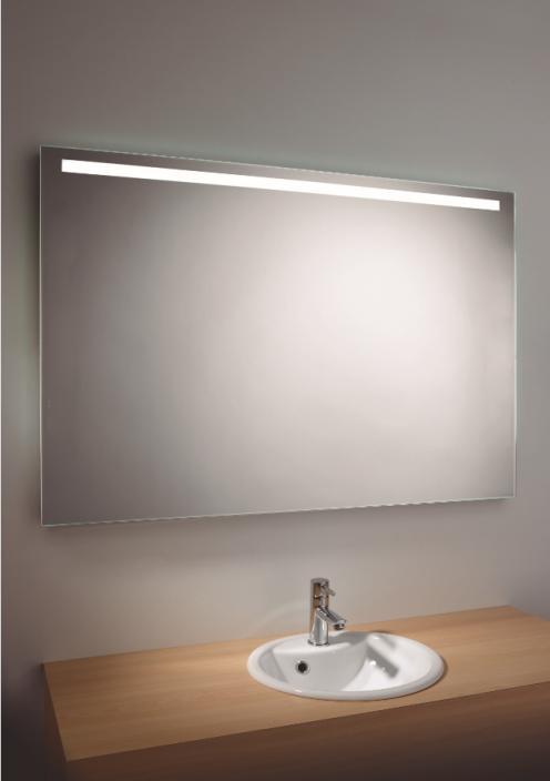e espejo luz horizontal led volt x alto