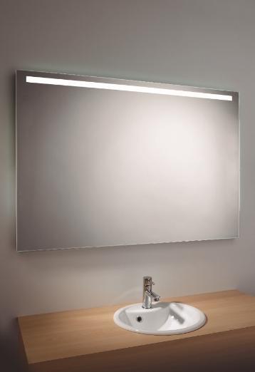 Accesorios De Baño Uraldi:ESPEJO URALDI LIGHT&MIRROR HORIZONTAL 100X60 E9160