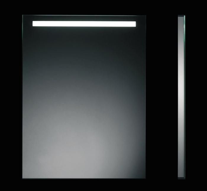 Espejo uraldi light mirror horizontal 100x60 e9160 for Espejo horizontal